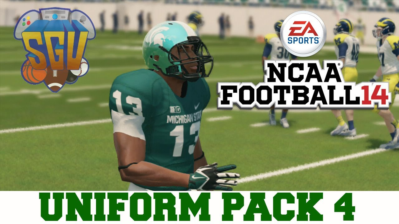 894796d55 NCAA Football 14  Uniform Pack 4 Available Now! - YouTube