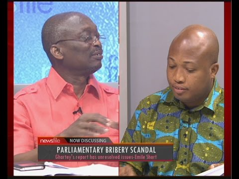 Parliamentary Bribery Scandal - Newsfile on JoyNews (1-4-17)