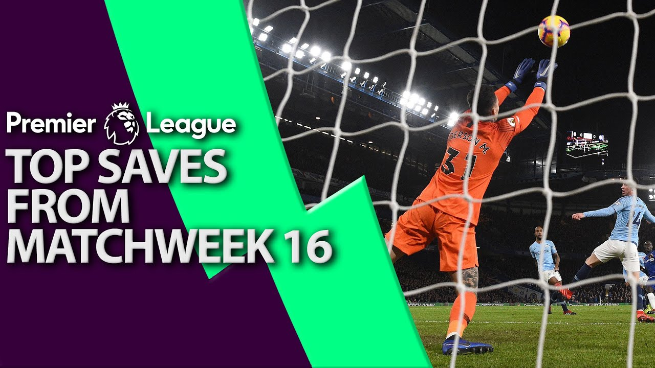 Top 5 saves from Premier League Matchweek 16 I NBC Sports