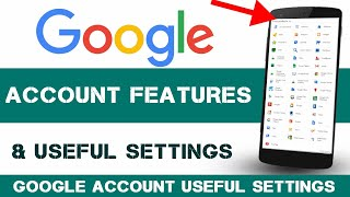 All TIPS About Google Account ! Google Security ! Google Activity ! Google Recovery email Change