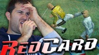 ESTE JUEGO DE FUTBOL NO TENIA REGLAS!!.. QUE AGRESIVIDAD!!   Red Card Gameplay