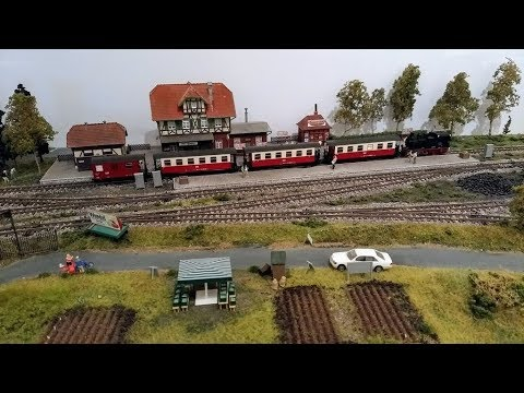 Wittenau Revisited - A Harz Themed Model Railway