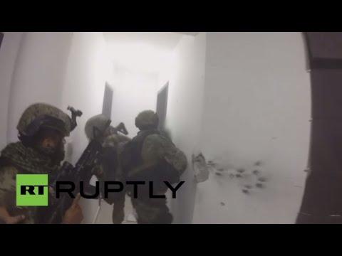 فيديو: عملية اعتقال أكبر تاجر مخدرات في العالم