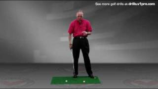 How to Hit Down on the Golf Ball with this Drill