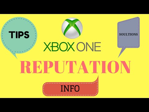 XBOX Reputation System! AVOID ME. What is it? Tips and solutions!