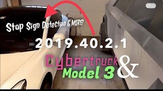 Tesla Software Update | 2019.40.2.1| Instant Lane Changes, Stop Sign Detection | +CyberTruck AR!