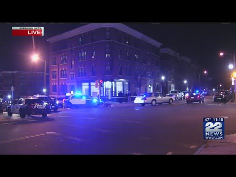Heavy police presence in downtown Springfield after 1 person shot