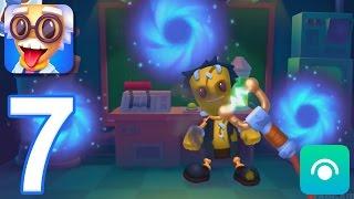 Kick the Buddyman: Mad Lab - Gameplay Walkthrough Part 7 - Free Weapons (iOS)