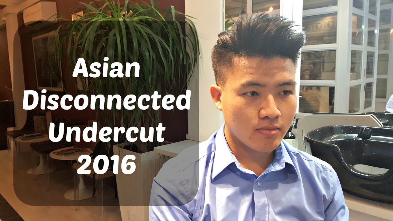 Asian Men's Disconnected Undercut 2016 | Jermyn Street ...