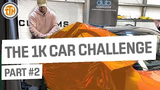 Paul Wallace Wraps His Own Car!? The £1k Car Challenge - Part 2