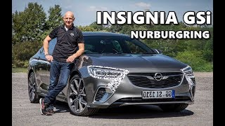 2018 Opel Insignia GSi Nurburgring Test