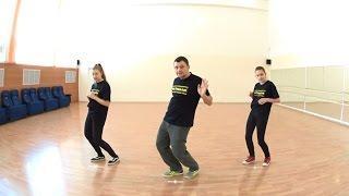[ПОЛЕЗНОСТИ] УРОКИ ХИП ХОПА | ВИДЫ КАЧА #025 DOWN BODY: Rock Steady-Forward | HIP HOP DANCE LESSON