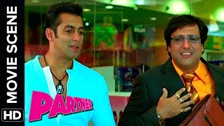 Govinda Meets Love Guru Salman Khan | Partner | Movie Scene
