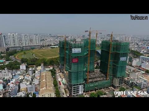 Xi Grand Court- Flycam cập nhật tiến độ xây dựng tháng 4, và clip nhà mẫu thực tế