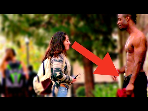 ATTRACTIVE BLACK GUY SOCIAL EXPERIMENT | ASKING GIRLS AT UCLA