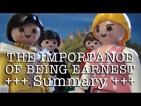 The Importance of Being Earnest to go (Wilde in 10 minutes, English version)