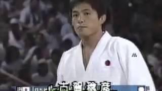 アトランタ五輪男子柔道78kg級準決勝 古賀稔彦vs趙麟徹(韓国)