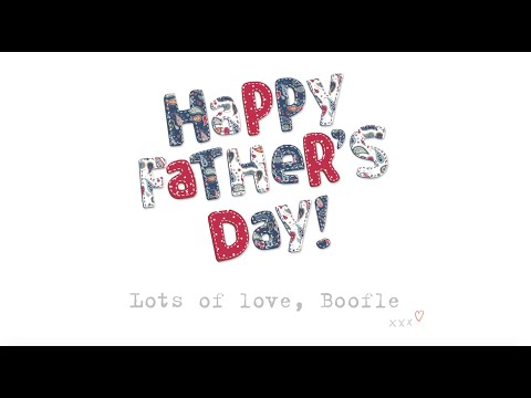 Boofle: Happy Father's Day!