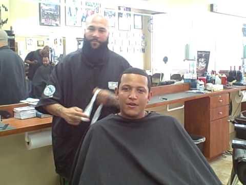 Headz Up Barber Shop Miguel Cabrera Youtube