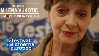 Intervista a Milena Vukotic - Festival del Cinema Europeo 2015