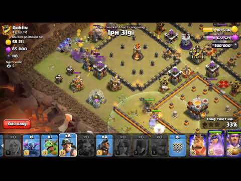 Live Attack | SpQ + Hogs Bowitch | 3 Stars War TH11 | ClanVNN #627