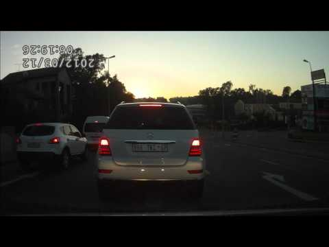 Bad driving Johannesburg Taxi's