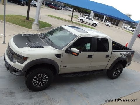 The All New Official Off-road Ford F150 SVT Raptor in Texas Terrain it's TDY Sales