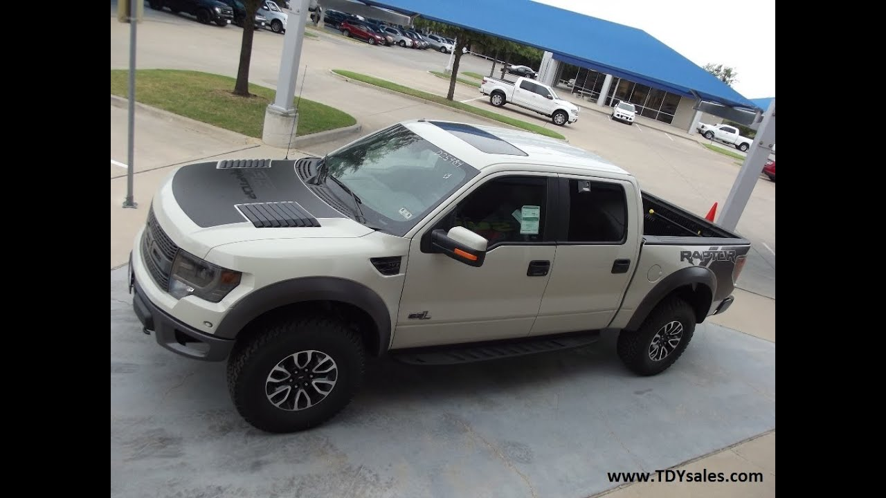 The All New Official Off-road Ford F150 SVT Raptor in Texas Terrain it ...
