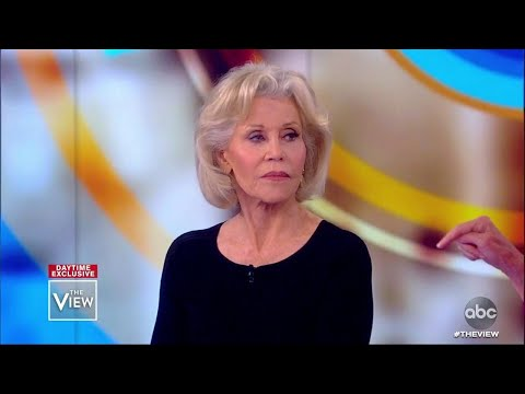 Jane Fonda's Climate Protests Inspired By Young Generations | The View