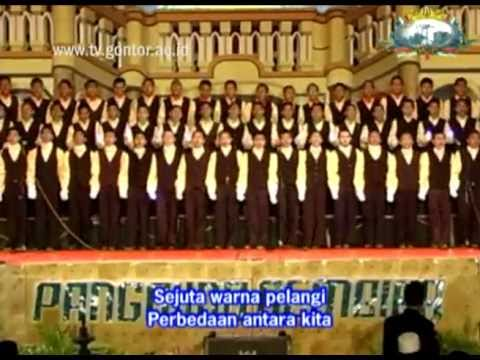 Lagu untuk sahabat, Koor Panggung Gembira Santri Kelas 6 2010