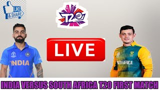 LIVE : India Vs South Africa 1st T20 Live Match || Today Live Cricket Match IND VS SA 2019