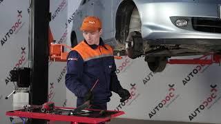 Comment remplacer des un bras inférieur de suspension avant sur une HONDA JAZZ 1 [TUTORIEL AUTODOC]