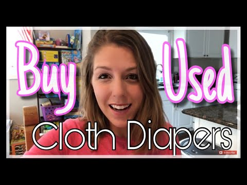 HOW TO BUY USED CLOTH DIAPERS