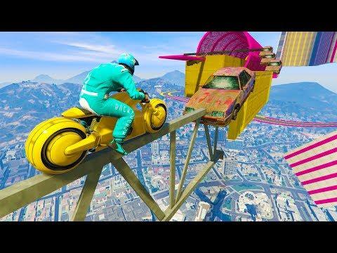 MOTO DEL FUTURO! 99% IMPOSIBLE!! - CARRERA GTA V ONLINE - GTA 5 ONLINE