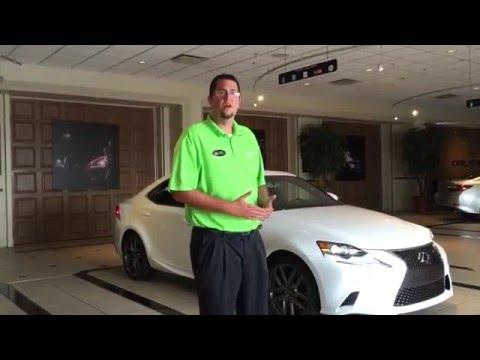 Lexus Technology Training | 2016 IS 200t Key Features | Lexus of Orlando