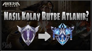 [Sezon7] NASIL KOLAY RÜTBE ATLANIR? | Platinden Elmasa Yükselmek | Arena of Valor - Pich Gameplay #2