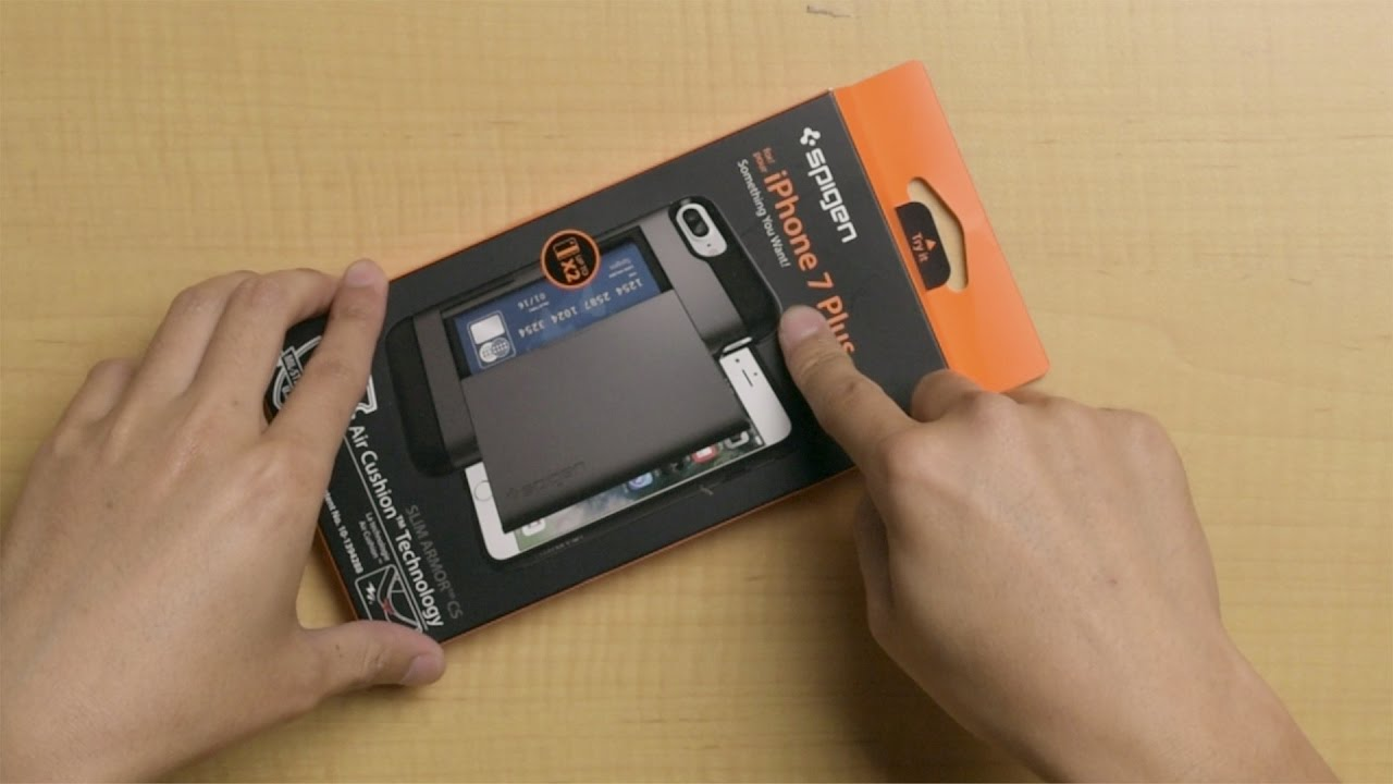 on sale ff926 8c7c6 Best iPhone 7 wallet case - Spigen Slim Armor CS