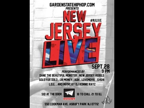 Garden State Hip Hop presents New Jersey Live