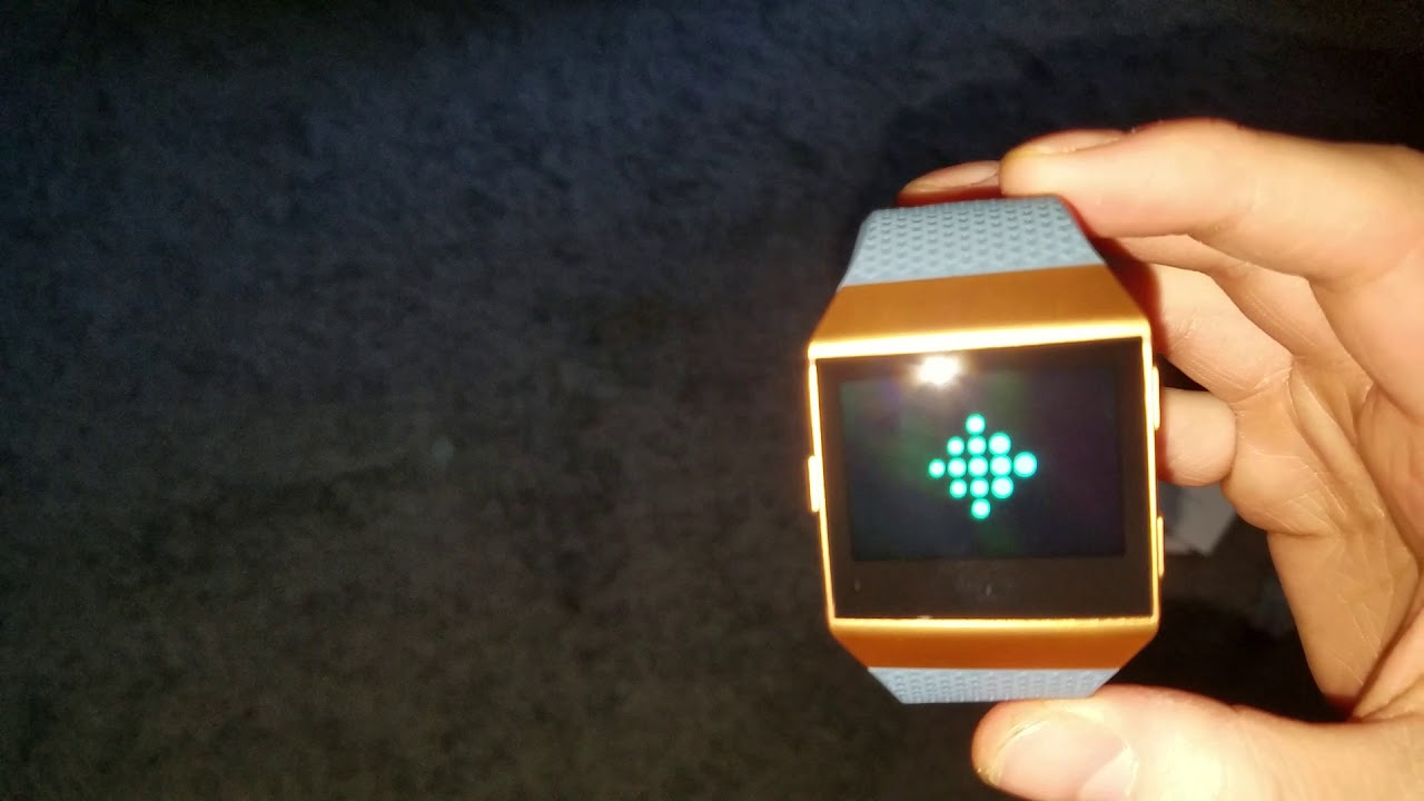 Fitbit Ionic Burnt Orange Unboxing YouTube