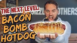BACON BOMB HOT DOG! Macht definitiv SOFORT satt!