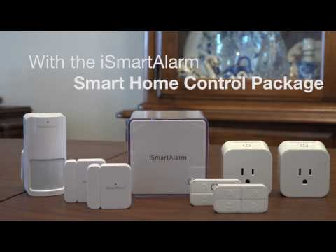 iSmartAlarm Smart Home Control Package