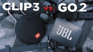 JBL CLIP 3 vs. GO 2 | Welche ist lauter ? | Klangvergleich | deutsch | 2018