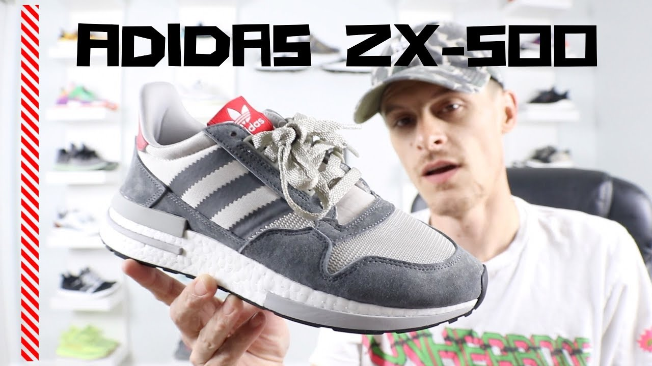 d24c30f9b8d14 ADIDAS ZX-500 RM Review (Awesome new shoe plus on foot shots) - YouTube
