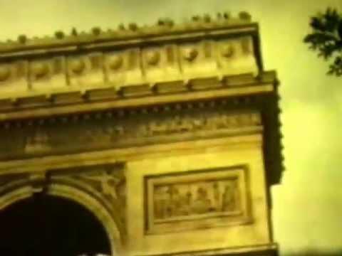 156.6.Paris Aug1971, Adrie, gbf, Ottaviano's Arc d'T, Ettoile, Napolean Tomb,Sacre Coeur,