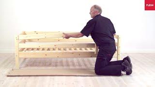 flexa classic single bed safety rails assembly instruction