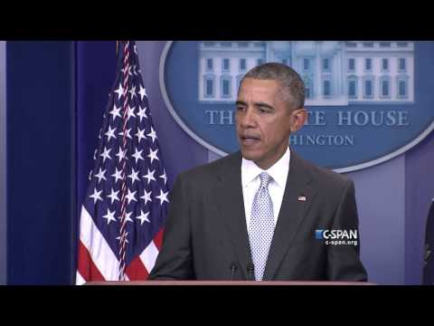President Obama statement on Paris Attacks (C-SPAN)