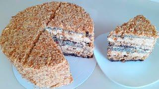 Торт Дамский Каприз очень изобильная начинка Рецепт королевского торта