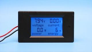Полный обзор и тест измерителя энергомера  pzem-031