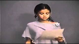Selena Gomez Wizards Of Waverly Place AUDITION TAPE