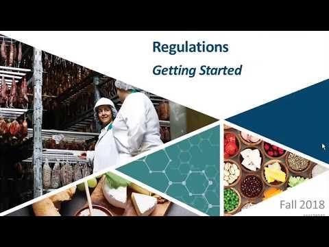 Safe Food For Canadians Regulations Webinar - Getting Started